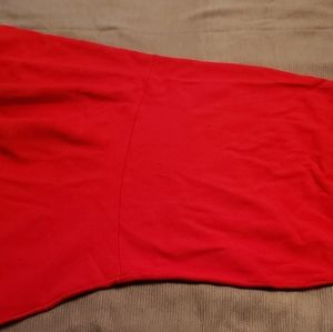Ann Taylor Factory Red Sweater Skirt - M